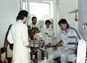 Po operacijos A.Sabonį siunčiame reabilitacijai